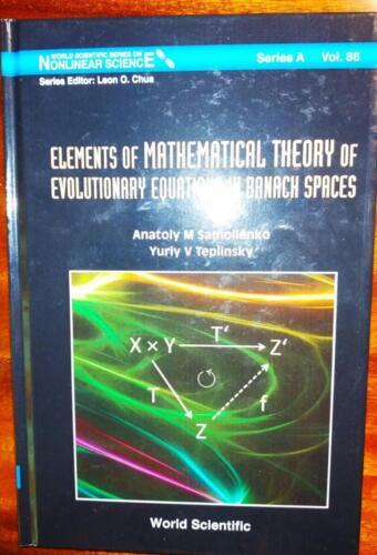 A. M. Samoilenko,  Yu. V. Teplinsky. Elements of Mathematical Theory of Evolutionari Equations in Banach Spaces. – Singapore: World Scientific. Series A, Volume 86. –  2013. – 400 p.